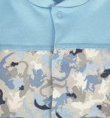 Комплект «Саванна» (комбинезон+шапочка) голубой, LEO