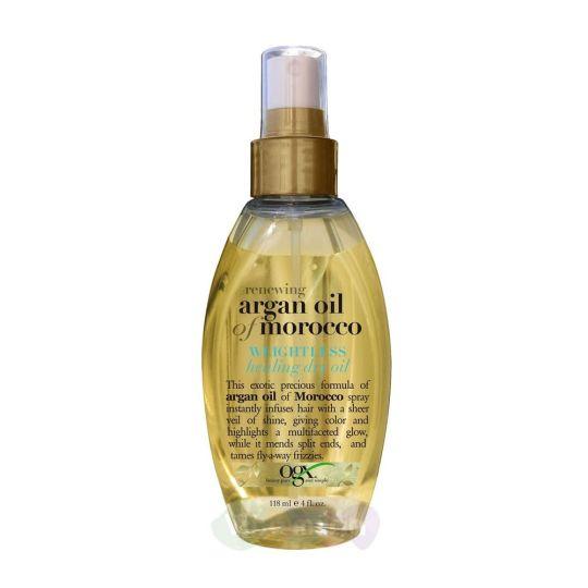 Ogx Легкое сухое аргановое масло-спрей Марокко для восстановления волос, 118 мл
