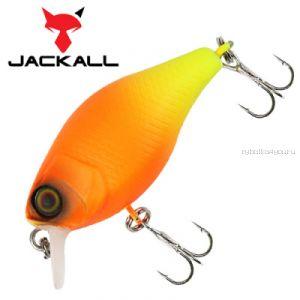 Воблер Jackall Chubby 38мм / 4,2 гр / Заглубление: 0,6 - 1 м / цвет: orange chartreuse