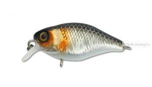 Воблер Jackall Chubby 38мм / 4,2 гр / Заглубление: 0,6 - 1 м / цвет: uv mat silver & black