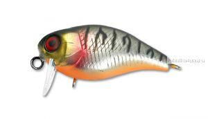 Воблер Jackall Chubby 38SSR 38 мм / 4,2 гр / Заглубление: 0,1 - 0,3 м / цвет: uv mat silver tiger