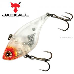Воблер Jackall Chubby Vibration 40 мм / 4,8 гр / цвет: clear salmon roe head