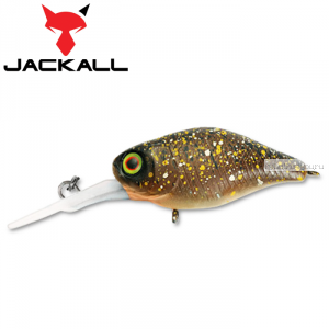 Воблер Jackall Diving Chubby 38F 38 мм / 4,3 гр / Заглубление: 1 - 1,5 м / цвет: brown bug