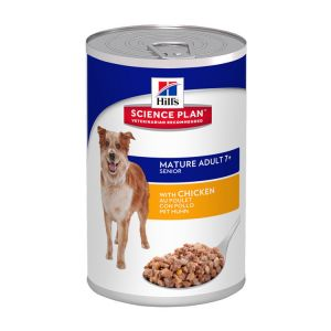 Hill's SP Canine MA7+ Savoury Chicken 12/370g