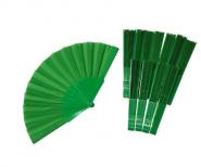 Волшебный веер (зеленый) 23 см