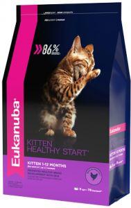 EUK Cat корм с домашней птицей для котят