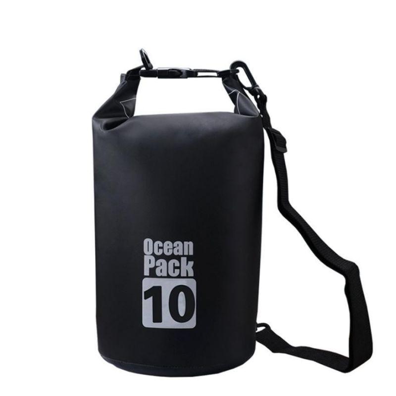Водонепроницаемая сумка-мешок Ocean Pack, 10 L, цвет черный