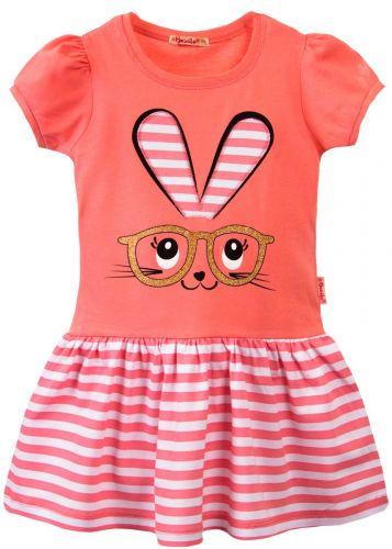 Платье на девочки 3-7 лет Bonito BK1170P розовый