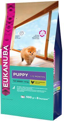 EUK Dog корм для щенков миниатюрных пород