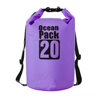 Водонепроницаемая сумка-мешок Ocean Pack, 20 L, Цвет: Фиолетовый