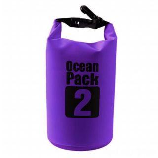 Водонепроницаемая сумка-мешок Ocean Pack, 2 L, Цвет: Фиолетовый