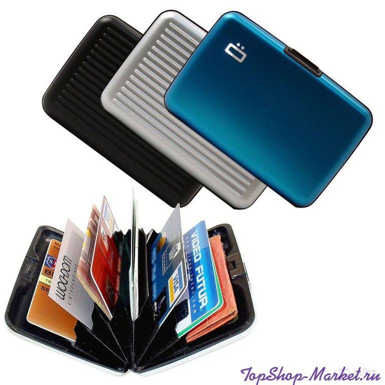 Бокс для кредитных карт Alluma Wallet (Security Credit Card Wallet), Цвет: Розовый