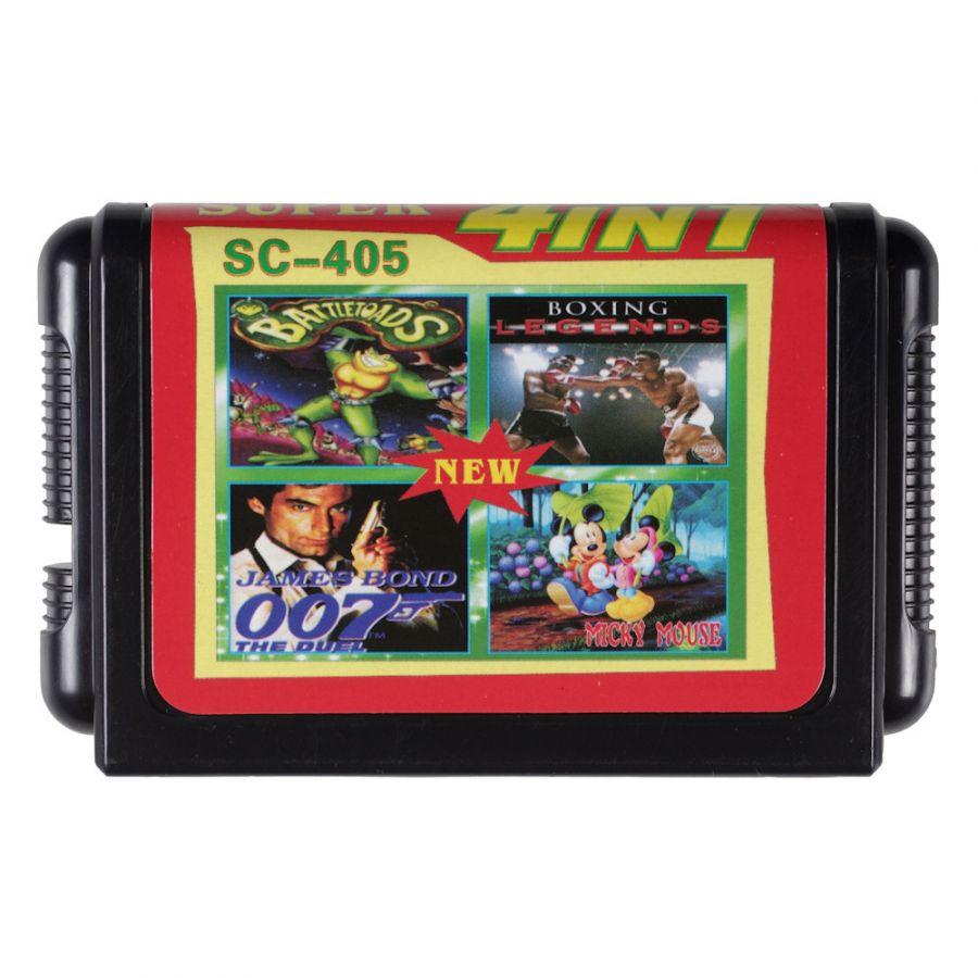 Sega картридж 4 в 1 SC-405