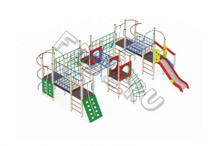 Детский игровой комплекс                          Спорт Горка 1200                                           8360х7090х3200