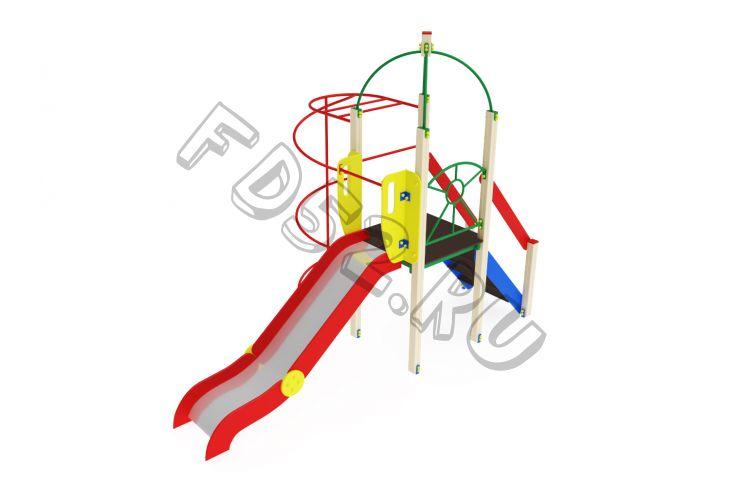 Детский игровой комплекс                           Навина Горка 1200                                           4380х2350х3200
