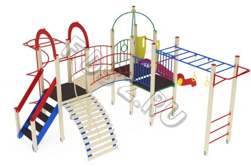 Детский игровой комплекс                           Навина Горка 1200                                           5760х6880х3200