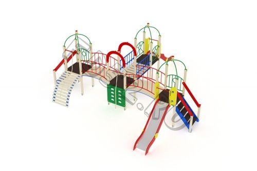 Детский игровой комплекс                           Навина Горка 1200                                           8240х8020х3200