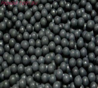 """Шарики сахарные """" Черный принц"""" глянец (d-5мм) вес 50 гр."""