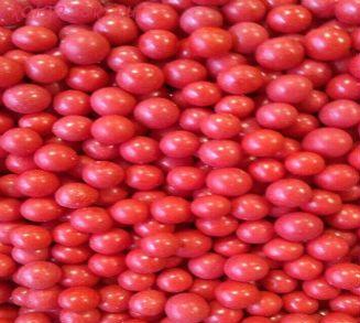 """Шарики сахарные """" Красный принц"""" ( d-5мм) глянец вес 50 гр."""