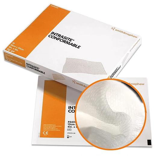 Intrasite Conformable / Интрасайт Конфомебл - моделируемая гелевая повязка
