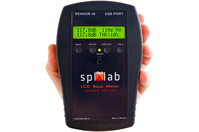 LCD Bass Meter(Second Edition)
