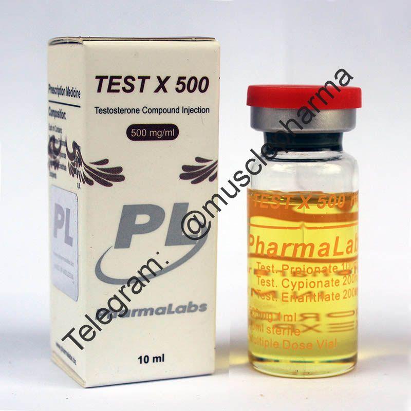 TEST X500 (СУСТАНОН 500 мг). PHARMALABS. 1 флакон * 10 мл.