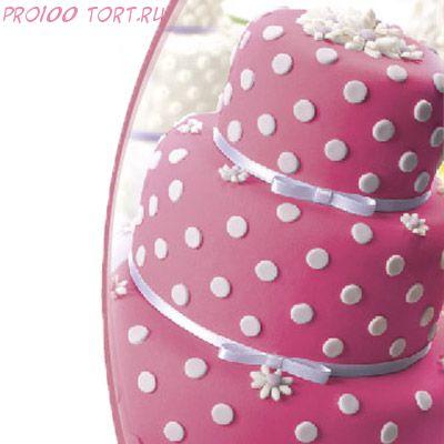Мастика сахарная Розовая вес 600 гр.