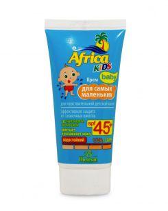 Крем для самых маленьких, для чувствительной детской кожи SPF 45+ «Africa Kids»
