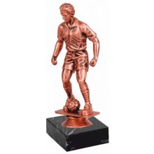 Приз статуэтка футболист бронза