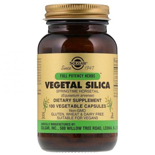 Растительный кремний (Vegetal Silica), 100 капс.