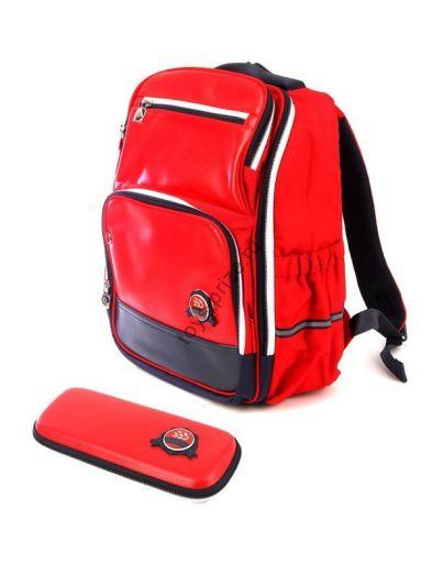 Рюкзак школьный ортопедический с органайзером Xiaoyang Backpack Red