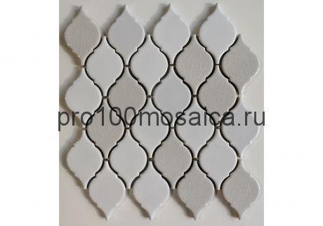 VERBA WHITE. Мозаика керамика,  размер, мм: 312*355*8 (ORRO Mosaic)
