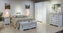 Кровать ЛАУРА 180*200 без изножья эмаль