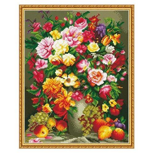 Набор Алмазная мозаика Осенний натюрморт с рамкой 40*50см