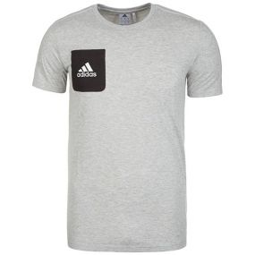Футболка adidas Tiro 17 Tee серая