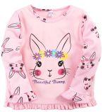 Лонгслив для девочки Bonito светло-розовый кролик Bunny