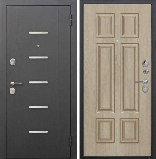 Входная дверь 7,5 см Калифорния Лиственница мокко