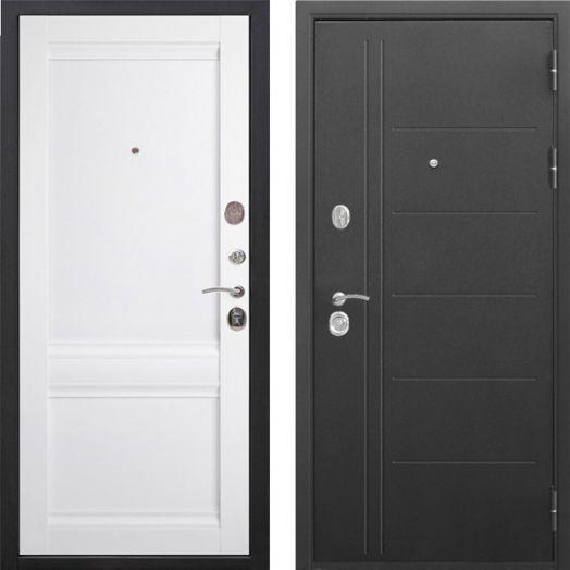 Входная дверь Троя Муар Царга 10 см (аляска)