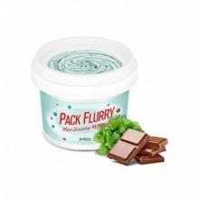 Pack Flurry (Mint chocochip) Маска-скраб для лица, 75 мл