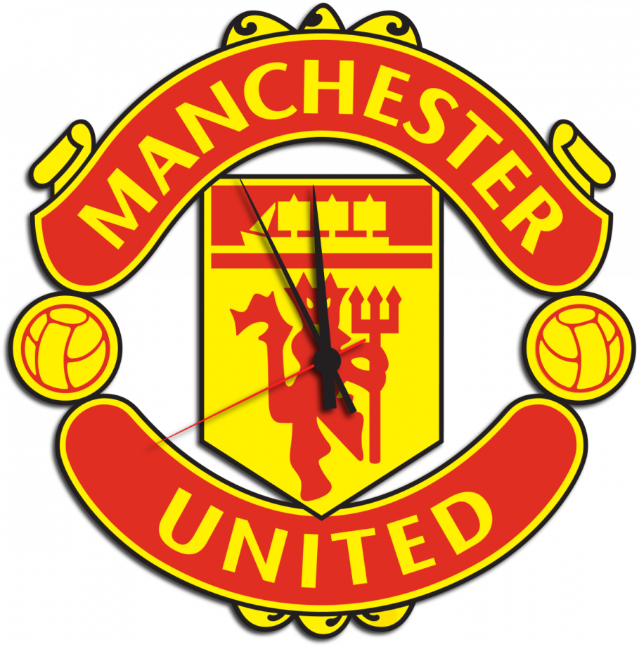 Часы настенные Манчестер Юнайтед