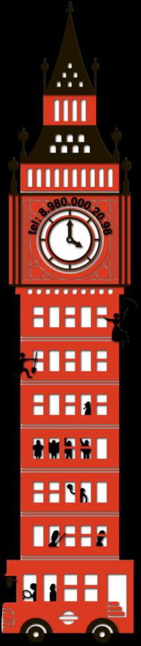 Часы настенные Биг-Бен
