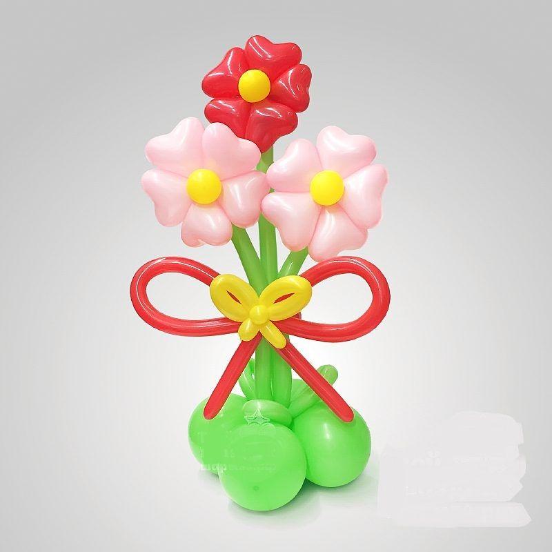 Букет из цветов сердечек «Любимые цветы».
