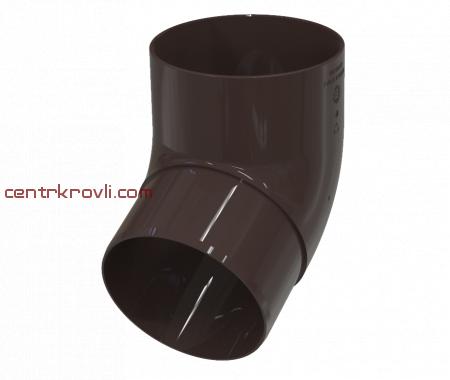 Колено трубы 67° GLC premium 100 мм