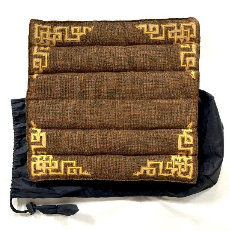 Складные подушки для медитации, в чехле (Тибет). В наличии в Москве