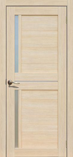 Дверь межкомнатная Каракас Ясень латте  (Цена за комплект)