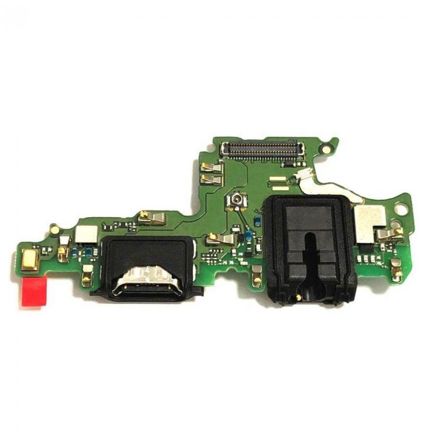 Нижняя плата с разъемами зарядки, наушников и микрофоном для Huawei Honor View 10 (Original)