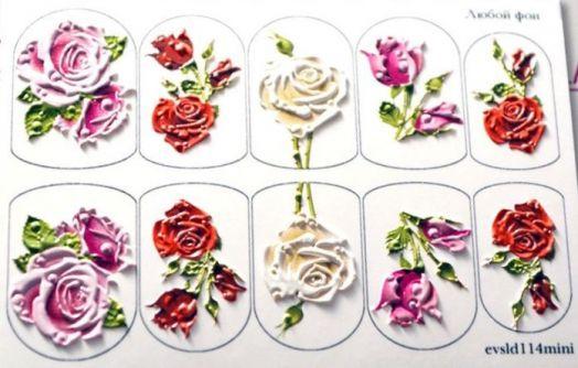3D Слайдер-дизайн - 114 - Розы