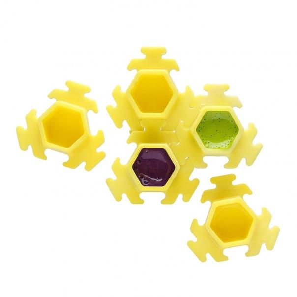 InkBox Puzzle Yellow-100шт