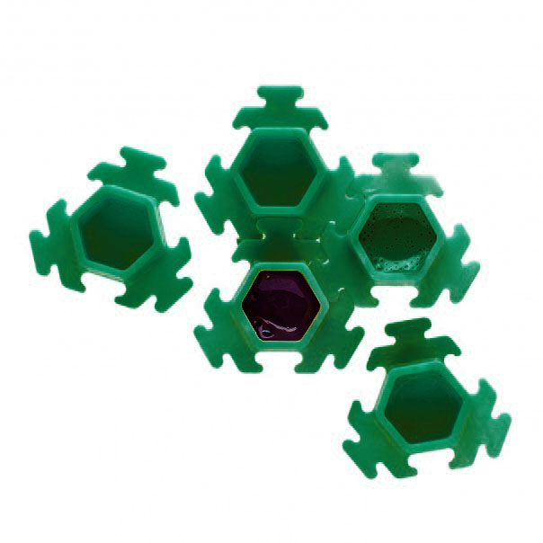 InkBox Puzzle Green - 100шт