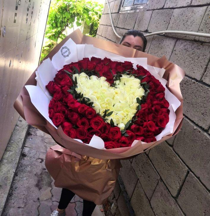 151 длинная роза